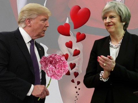 No 10 tricked into thinking Trump was sending Theresa May flowers for Valentine's Day