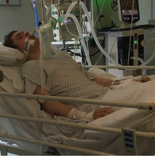 Jordan Higham, 20, is currently in intensive care at Salford Royal Hospital after taking Spice at Forest Bank prison