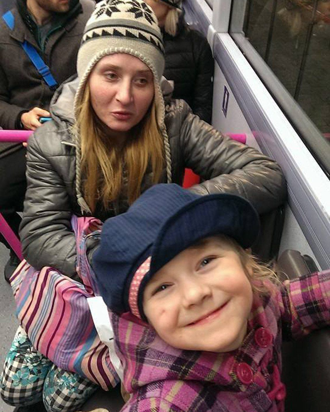 Undated handout photo issued by West Yorkshire Police of Alicja Dworakowska, 29, and her five-year-old daughter, as police are urging the heavily pregnant woman to get in touch after she was reported missing with her daughter. PRESS ASSOCIATION Photo. Issue date: Tuesday February 14, 2017. Ms Dworakowska and her daughter, from the Beeston area of Leeds, were last heard from on Monday, West Yorkshire Police said. See PA story POLICE Pregnant. Photo credit should read: West Yorkshire Police/PA Wire NOTE TO EDITORS: This handout photo may only be used in for editorial reporting purposes for the contemporaneous illustration of events, things or the people in the image or facts mentioned in the caption. Reuse of the picture may require further permission from the copyright holder.