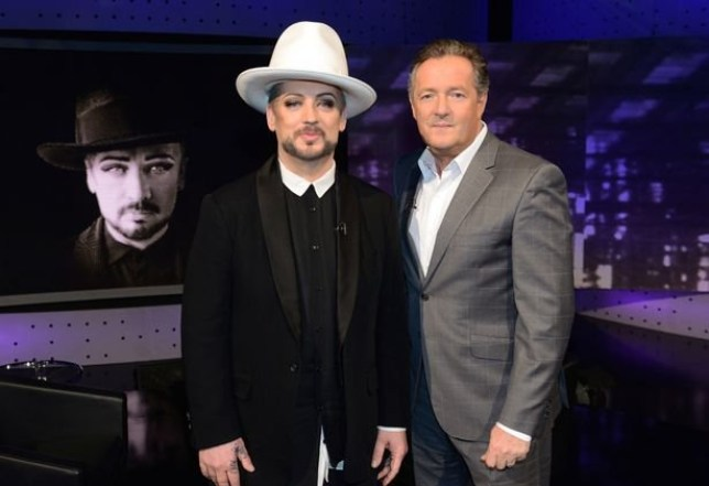 Piers Morgan Life Stories. Boy George reveals shame at keeping male escort prisoner in his home