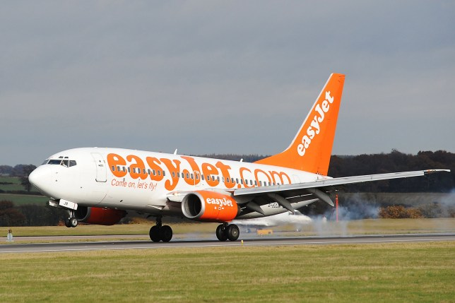 Group of Orthodox Jewish men cause 'absolute bedlam' on easyJet flight by refusing to sit next to women and plugging a phone into the plane's control panel (Getty) UNITED KINGDOM - NOVEMBER 16: An Easyjet plane takes off at Luton Airport near Luton, U.K., on Sunday, Nov. 16, 2008. EasyJet Plc, Europe's second-biggest discount airline, said full-year profit fell 45 percent as higher fuel expenses eroded earnings. (Photo by Christopher Cox/Bloomberg via Getty Images)