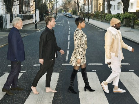 The Voice judges recreated The Beatles' iconic Abbey Road photo and Gavin Rossdale was Paul McCartney