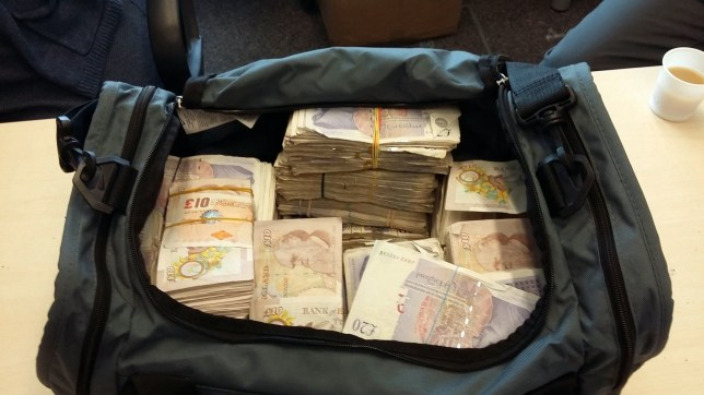 Money seized by police. Metropolitan Police have revealed they seized more than £73 million from convicted criminals during 2015/16. See story NNCASH. This is the largest total seized in London in a single year since the Proceeds of Crime Act came into force in 2002. Each year millions of pounds of assets are recovered from convicted criminals following financial investigations by the MPS' Criminal Finance Teams, using proceeds of crime legislation. Criminal Finance Teams and joint enforcement teams are ensuring that criminals do not profit from their criminality by using the full range of the legislation to restrain assets and confiscate the value of their criminal activity. Assets range from properties to vehicles, jewellery and artwork. During the financial year 2015/16, the Met issued orders under the Proceeds of Crime Act totalling £73.4million. The largest single value cash seizure in 2015/16 was £943,000. The cash was found when officers stopped a black cab in east London and found a large holdall in the passenger compartment which contained the cash.