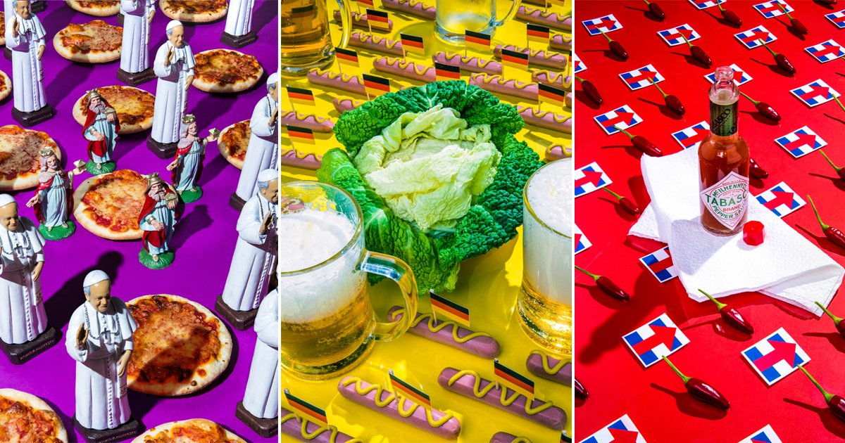 Photo series reveals fave foods of world leaders (Dan Bannino) https://www.instagram.com/danbannino/