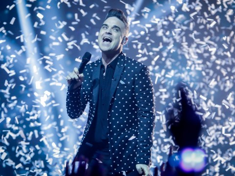 Robbie Williams rejoins Take That on the Let It Shine final for epic performance of The Flood