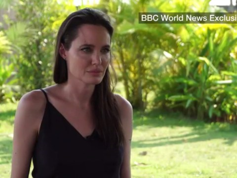 Angelina Jolie cries on BBC as she speaks about divorce from Brad Pitt for the first time