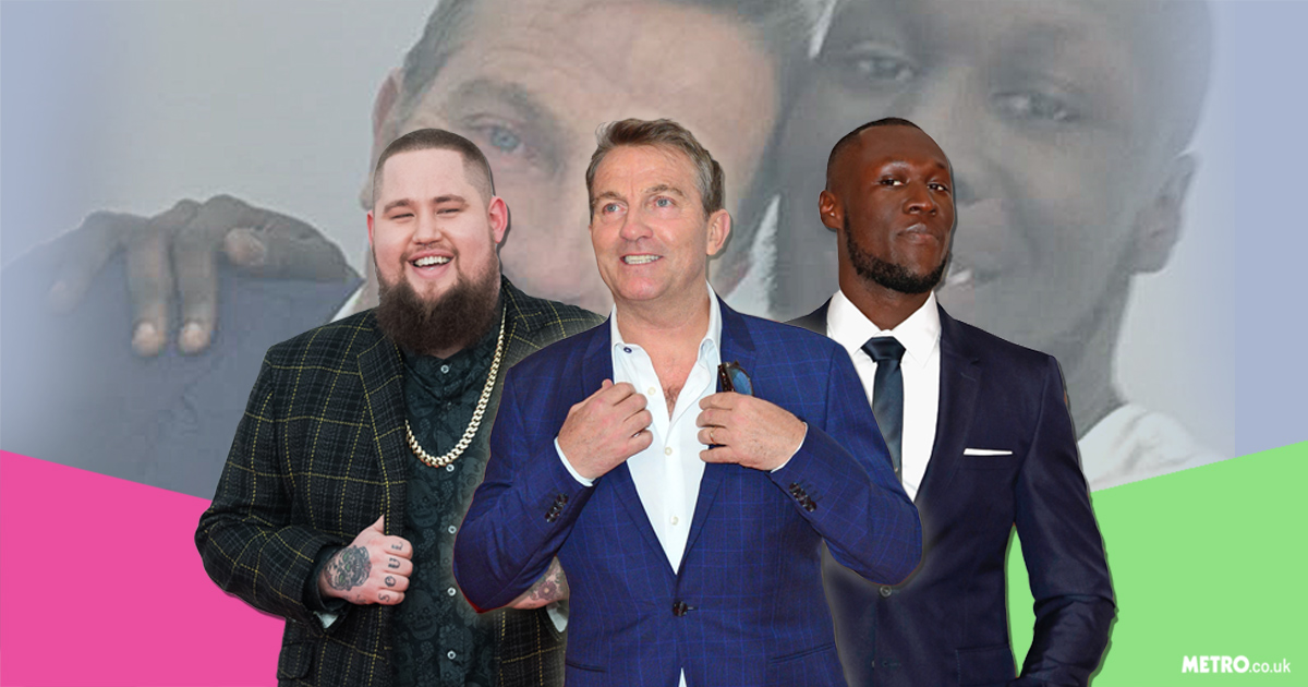 Bradley Walsh was every man's hero at the Brits after revealing that he's 'mates' with Stormzy, Bruno Mars and probably Rag N Bone Man