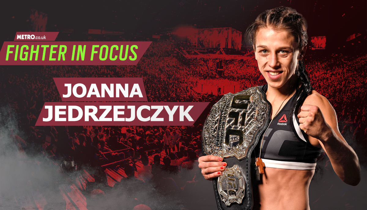 Fighter In Focus: Europe's second great hope is UFC strawweight champion Joanna Jedrzejczyk