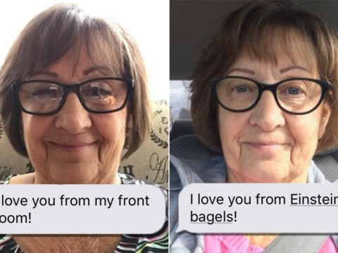 This grandma's 'I love you from' texts to her granddaughter are absolutely adorable