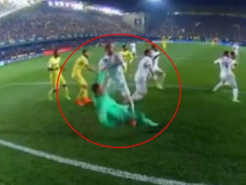 Real Madrid win free-kick after Gareth Bale fouls his OWN player