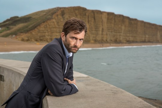 ITV BROADCHURCH SERIES 3 Pictured : DAVID TENNANT as DI Alec Hardy. This photograph is (C) ITV Plc and can only be reproduced for editorial purposes directly in connection with the programme or event mentioned above. Once made available by ITV plc Picture Desk, this photograph can be reproduced once only up until the transmission [TX] date and no reproduction fee will be charged. Any subsequent usage may incur a fee. This photograph must not be manipulated [excluding basic cropping] in a manner which alters the visual appearance of the person photographed deemed detrimental or inappropriate by ITV plc Picture Desk. This photograph must not be syndicated to any other company, publication or website, or permanently archived, without the express written permission of ITV Plc Picture Desk. Full Terms and conditions are available on the website www.itvpictures.com For further information please contact: Patrick.smith@itv.com 0207 1573044