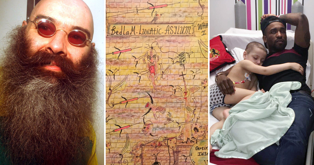 Charles Bronson sends drawing to boy battling terminal cancer
