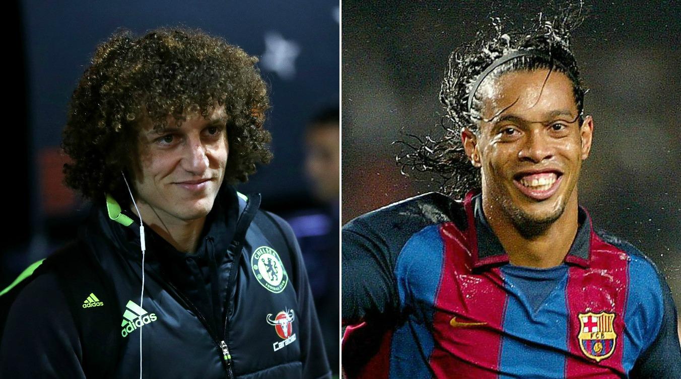 Eden Hazard's wondergoal for Chelsea against Arsenal reminded me of Ronaldinho, says David Luiz