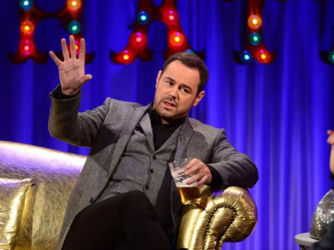 Danny Dyer's mum 'begged Alan Carr not to let him drink on New Year's Eve show'