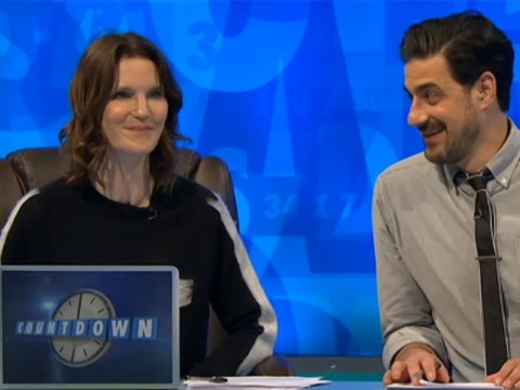 Countdown's Susie Dent turned the air a bit blue in Dictionary Corner with the word 's**thead'
