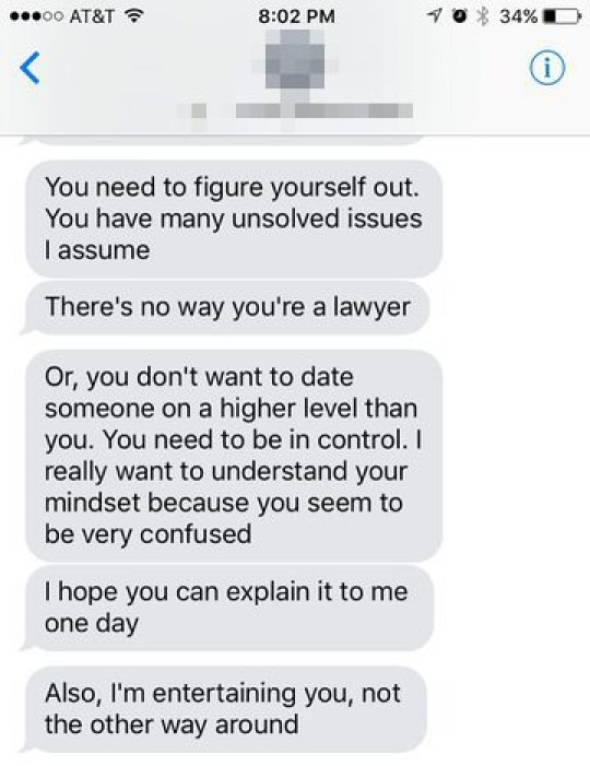Guy gets called 'a little too much' by date and totally