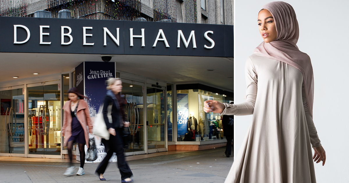 75eb8642317f2 Debenhams becomes first major department store to sell the hijab and other  Muslim clothing | Metro News