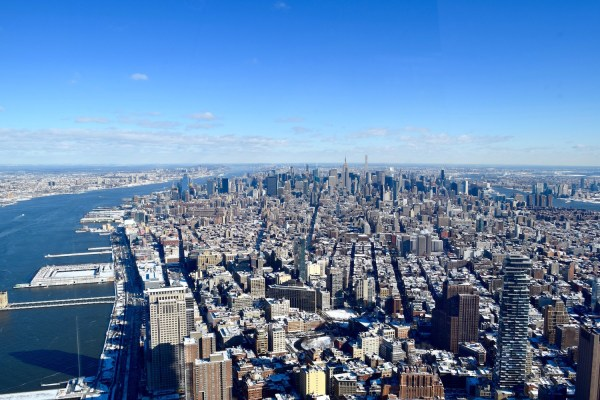 View from One World Observatory, New York (Picture: Chloe Gunning)