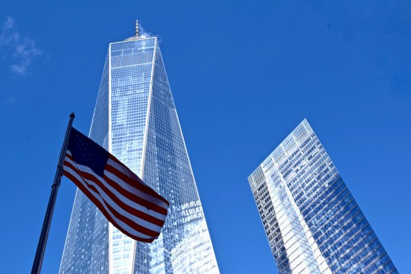 View of Freedom Tower, New York (Picture: Chloe Gunning)
