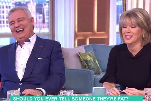 Ouch! Weight loss expert brands Eamonn Holmes 'fat' on This Morning