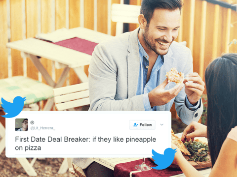 People are revealing their first date deal-breakers ahead of Valentine's Day