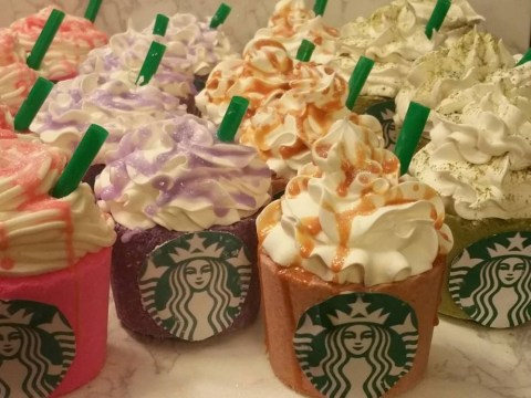 Starbucks Frappuccino bath bombs are now a thing