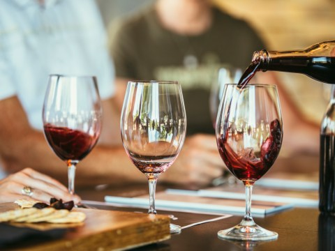 How to tell if your glass of wine is any good (and other things I learnt drinking in the dark)