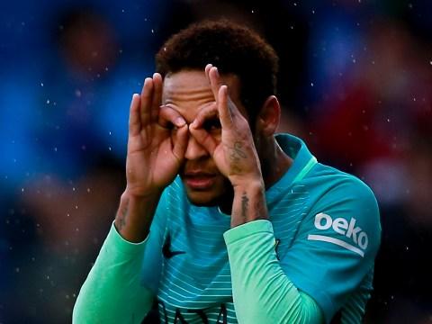 Neymar overtakes Ronaldinho goal record at Barcelona