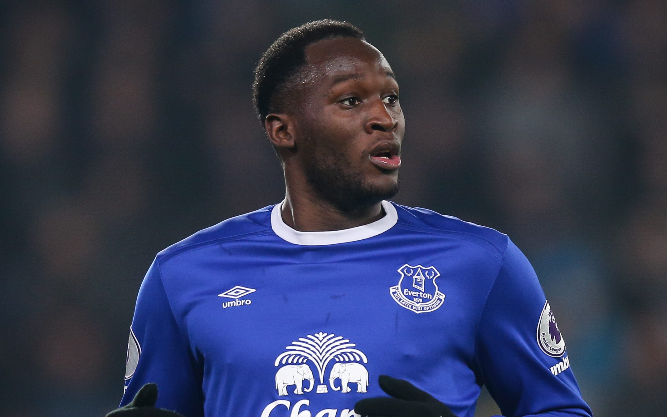 HULL, ENGLAND - DECEMBER 30: Romelu Lukaku of Everton during the Premier League match between Hull City and Everton at KC Stadium on December 30, 2016 in Hull, England. (Photo by Robbie Jay Barratt - AMA/Getty Images)