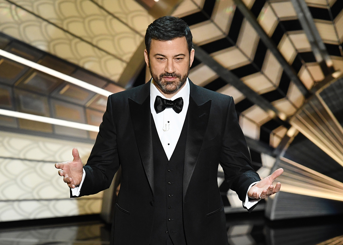Jimmy Kimmel hasn't started writing his Oscars script yet, and thinks it's too soon to joke about Weinstein