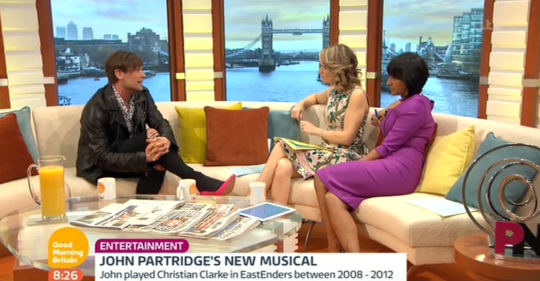 Partridge appeared on Good Morning Britain (Picture: ITV)