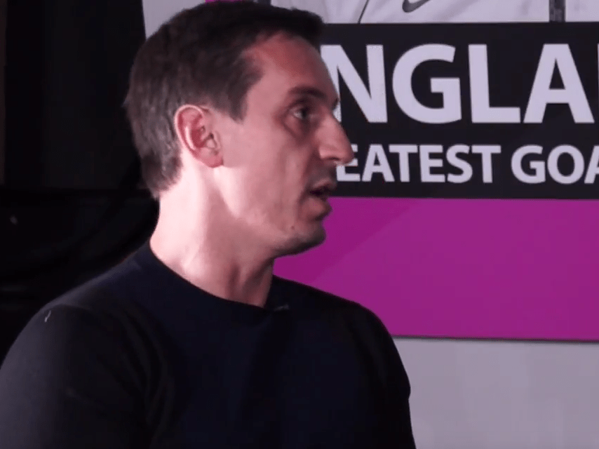 Video: Arsenal fans should be careful what they wish for, says Gary Neville