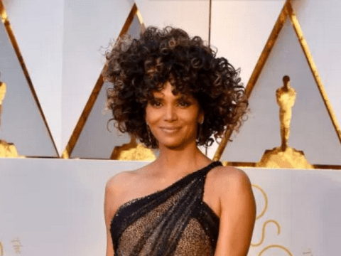 Halle Berry throws her gown poolside as she shares skinny-dipping video after Oscars