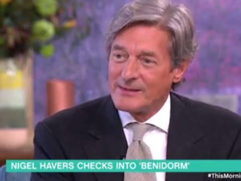 'Everyone is smashed!' Filming Benidorm proved to be eye-opening for Nigel Havers