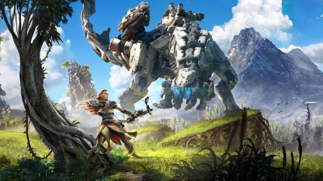 Horizon Zero Dawn key art