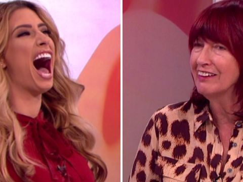 Loose Women panel left confused as Stacey Solomon speaks 'Uvaguv' language live on the show