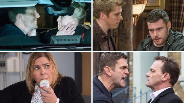 12 soap spoiler pictures: Coronation Street sex horror, EastEnders rage, Emmerdale fire, Hollyoaks tragic goodbye