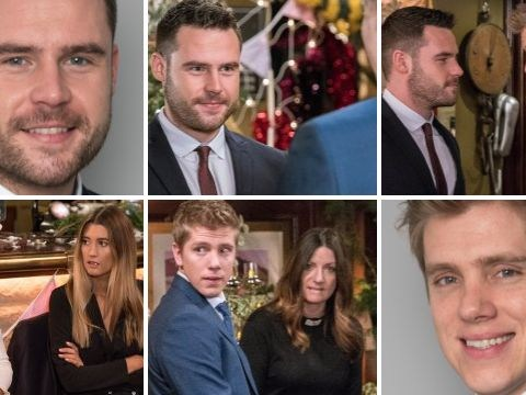 Emmerdale spoilers: 14 pictures from Robert Sugden and Aaron Dingle's wedding
