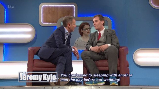 A guest on Jeremy Kyle has caused some hysterics with viewers (Picture: ITV)