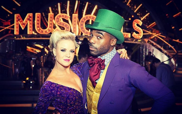 Joanne Clifton danced with Ore Oduba on Strictly 2016 but broke up with her boyfriend Joseph in 2016 (Picture: Instagram)