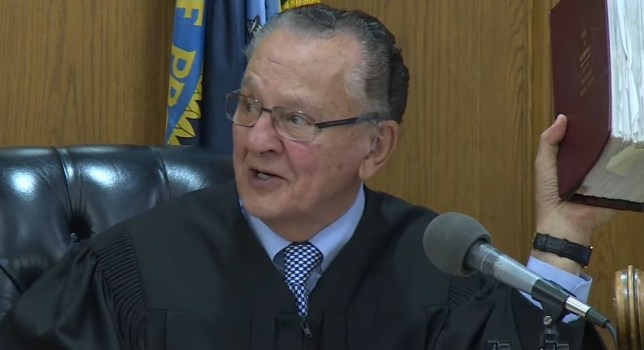 Judge Caprio laughed the case out of court