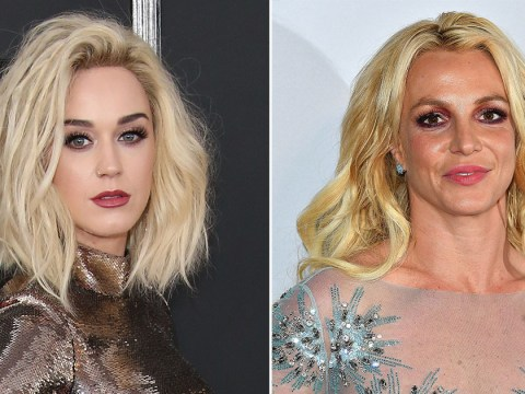 Britney Spears has offered 'weekend advice' following Katy Perry's Grammys shade