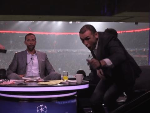 Arsenal legend Martin Keown can't hide his excitement at Alexis Sanchez goal v Bayern Munich