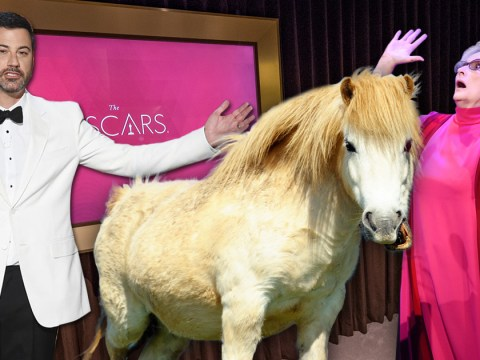 Jimmy Kimmel wanted to give Meryl Streep a pony to celebrate her record breaking Oscar nomination