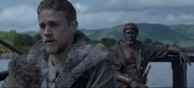 Charlie Hunnam as Arthur (Picture: WB)