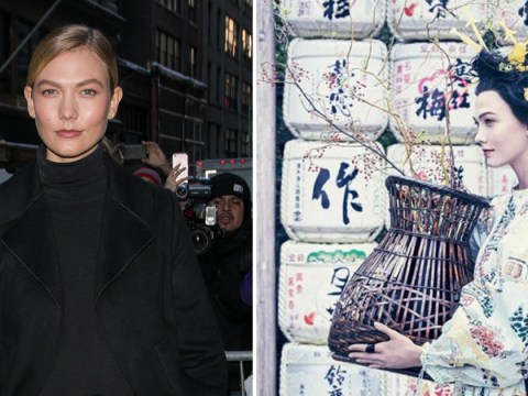 Vogue decided to celebrate diversity by dressing Karlie Kloss up as a geisha
