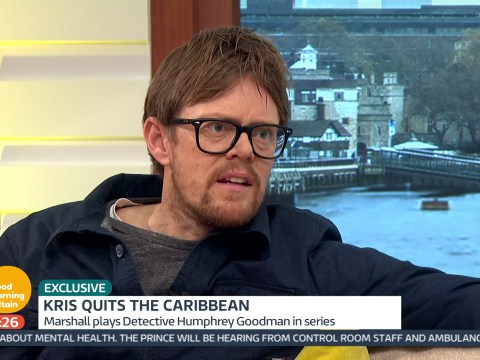 Kris Marshall is already doubting his decision to quit Death In Paradise