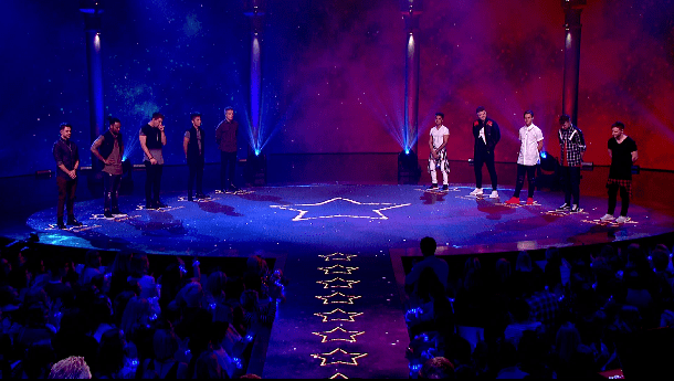 It was a tough results show on Let It Shine (Picture: BBC)
