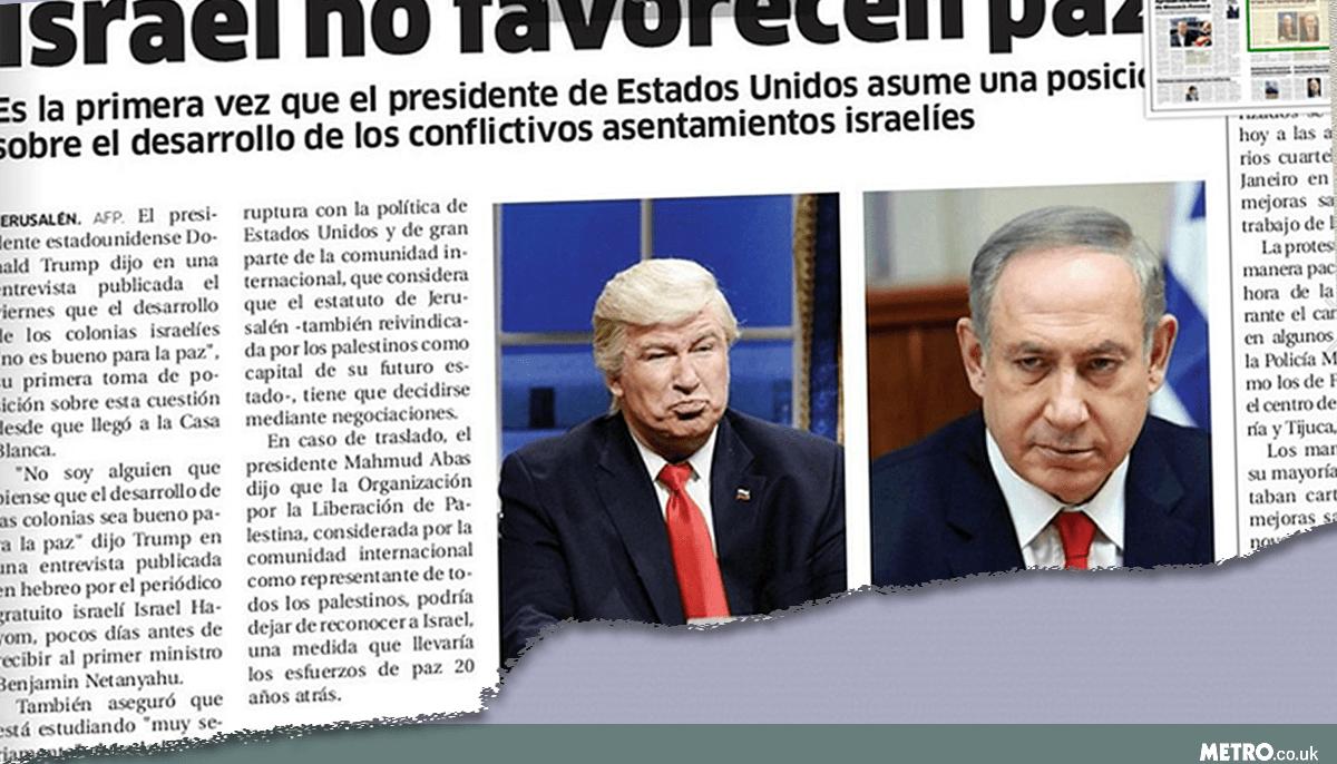 Alec Baldwin's Trump act fools newspaper