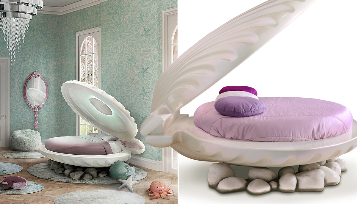 There's now a Little Mermaid bed and all our Disney-fied dreams have come true